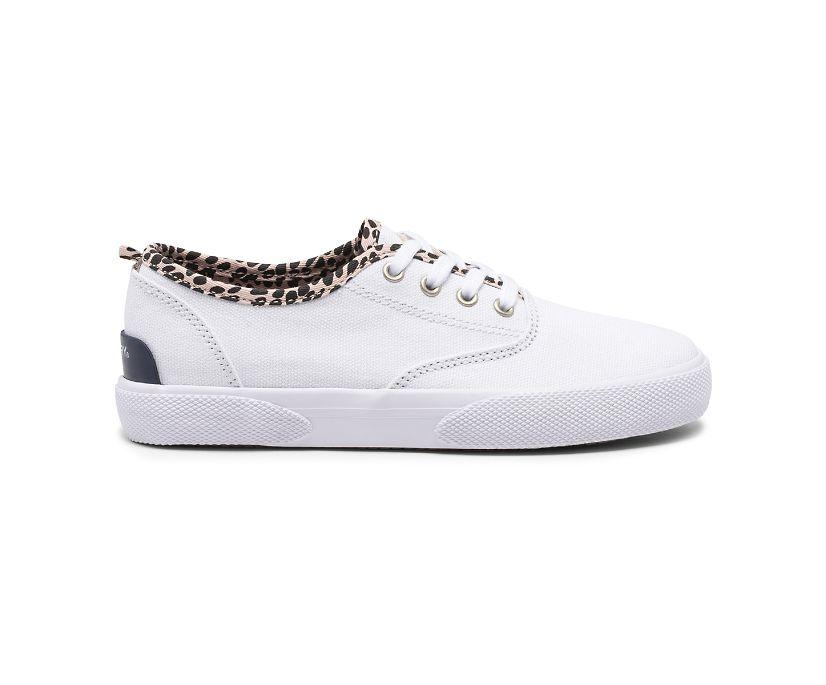 Pier Wave CVO Washable Sneaker, White/Leopard, dynamic