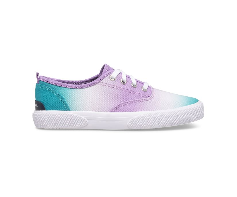 Pier Wave CVO Washable Sneaker, Turquoise Ombre, dynamic