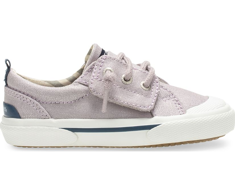 Pier Wave Junior Sneaker, Grey Sparkle, dynamic