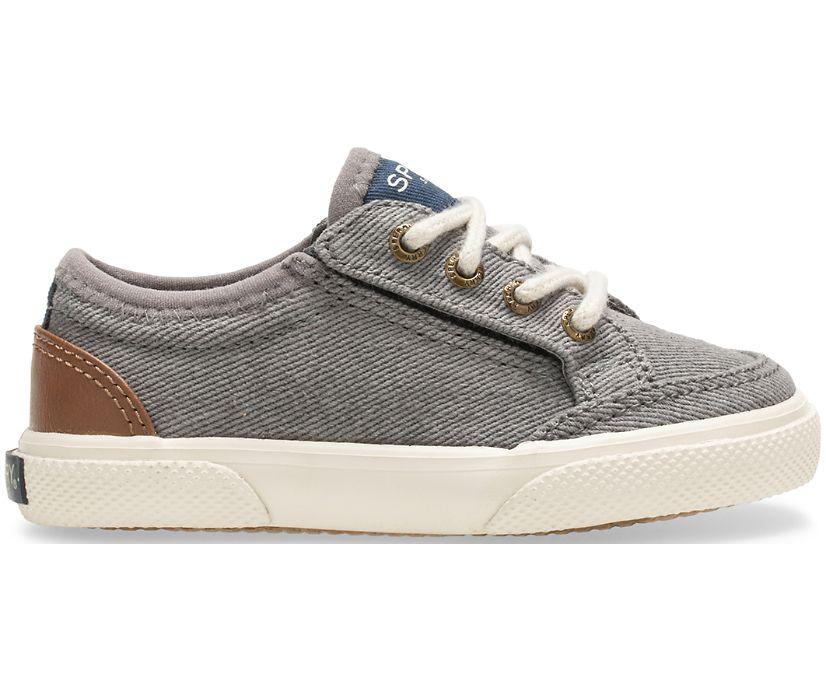 Deckfin LTT Junior Sneaker, Grey/Tan, dynamic