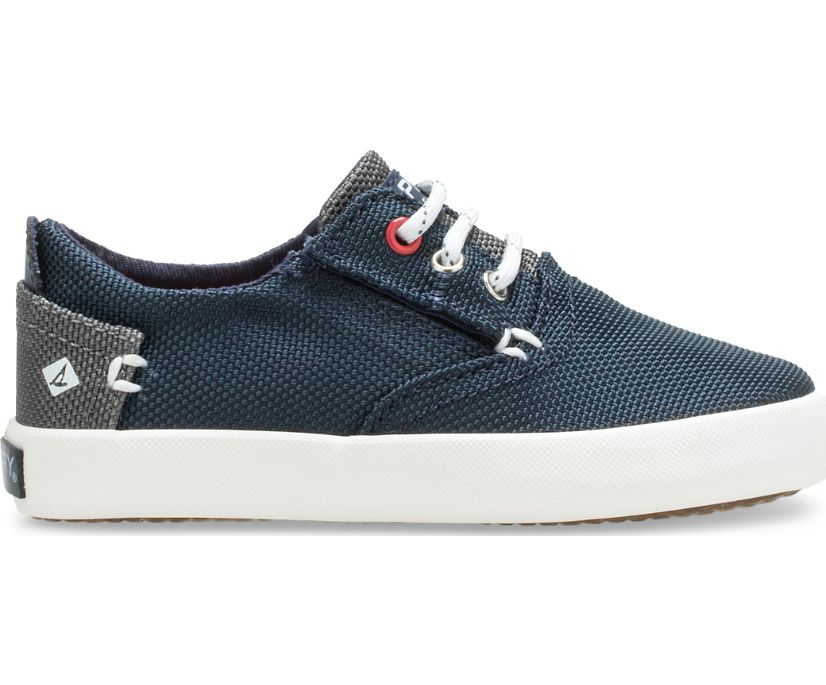 Bodie Junior Washable Sneaker, Blue, dynamic
