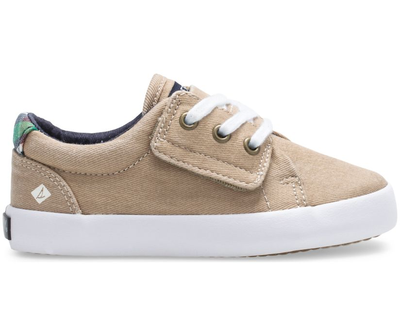 Tuck LTT Junior Sneaker, Khaki, dynamic