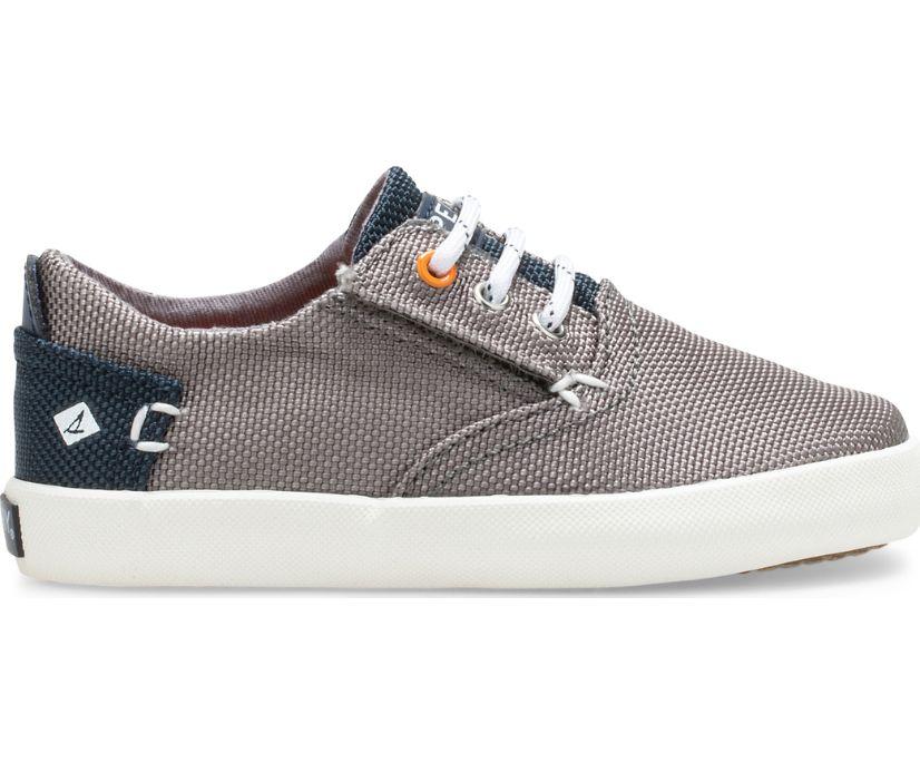 Bodie Washable Junior Sneaker, Dark Grey/Navy, dynamic
