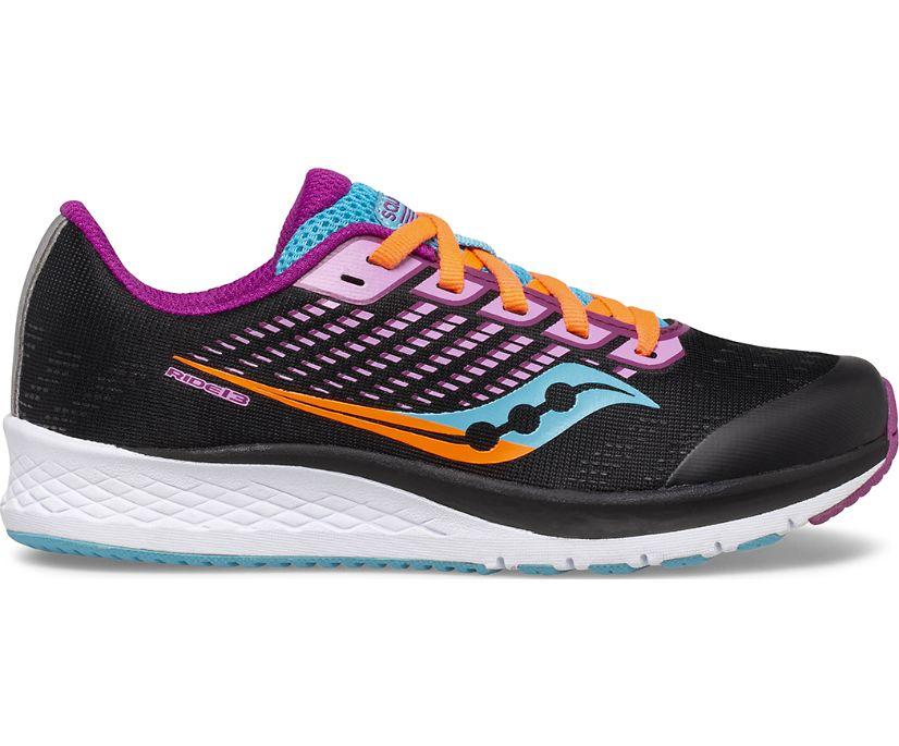 Ride 13 Sneaker, Black | Pink, dynamic