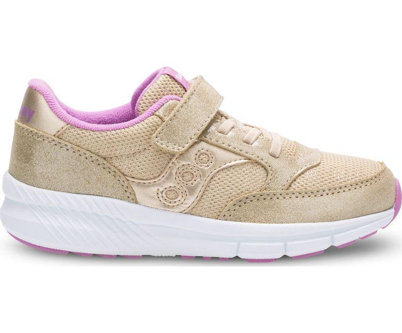 Jazz Lite A/C Sneaker, Gold Sparkle, dynamic