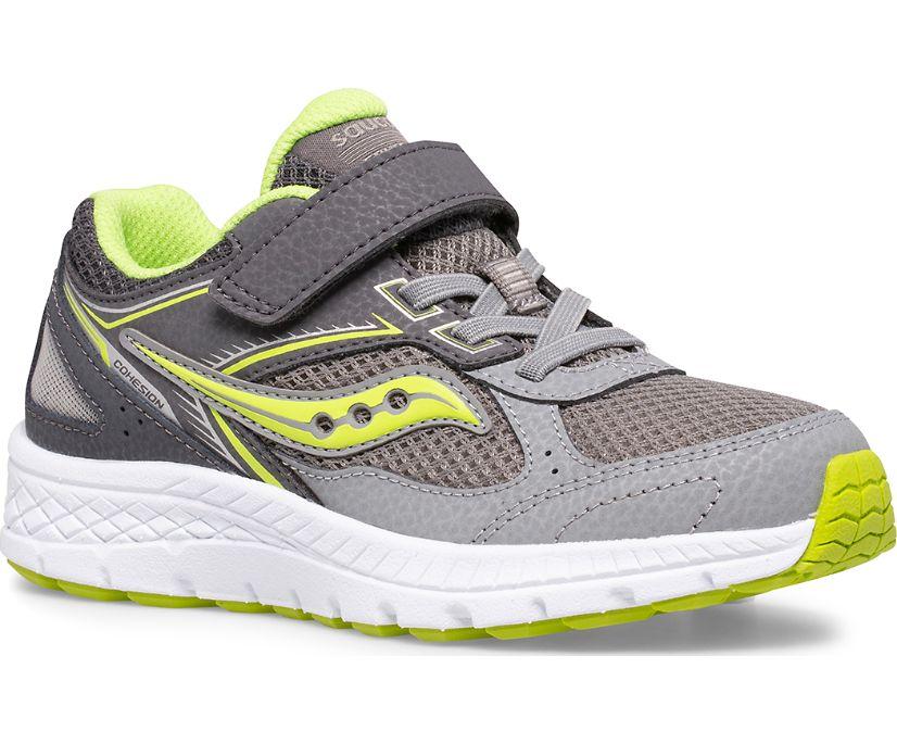 Cohesion 14 A/C Sneaker, Grey   Citron, dynamic