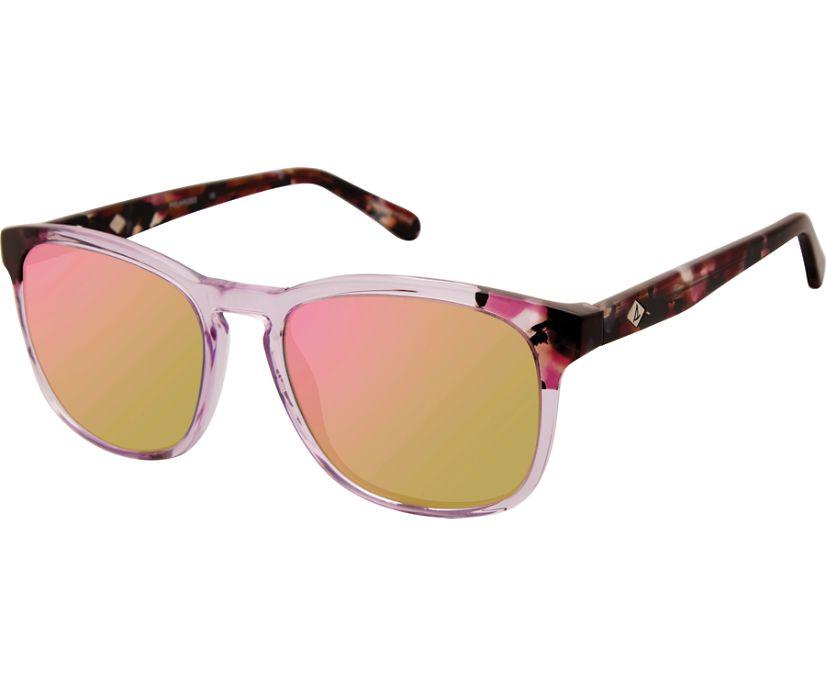 Crystal Cove Sunglasses, Crystal Pink / Tortoise, dynamic