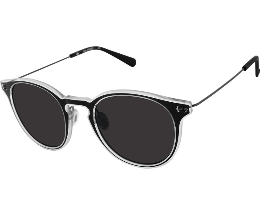 Haven Sunglasses, Black Crystal, dynamic