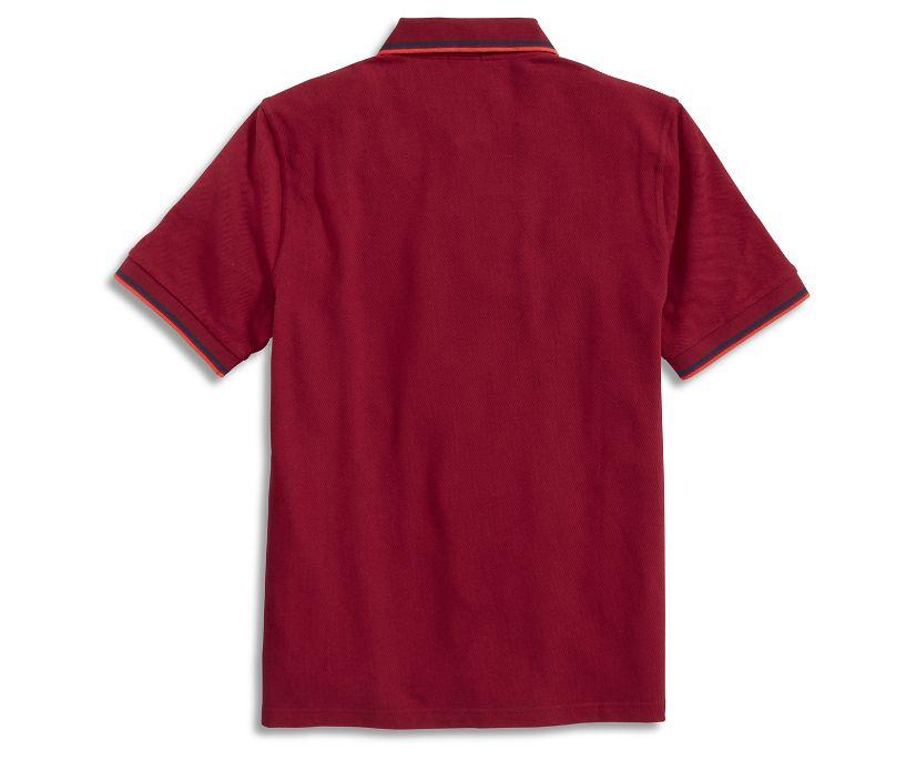 Pique Polo, Tibetian Red, dynamic
