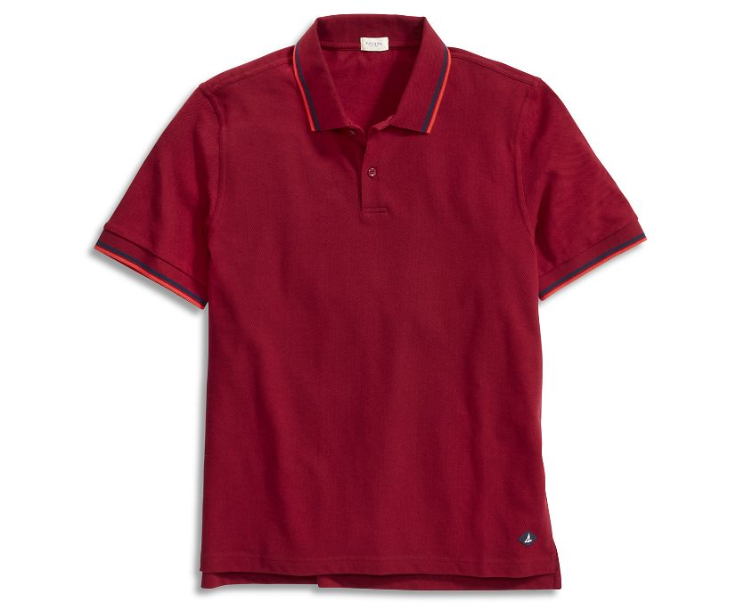Pique Polo, Tibetian Red, dynamic