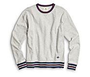 Old School Sweatshirt, Light Grey, dynamic