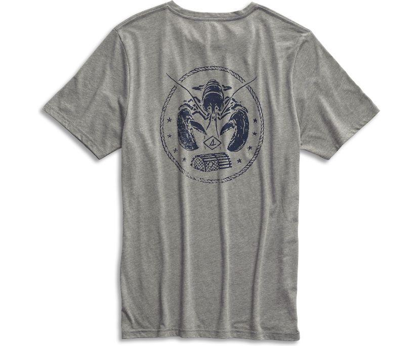 Lobster T-Shirt, Grey, dynamic
