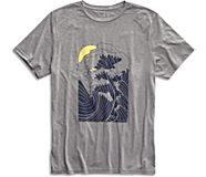 Japanese Wave T-Shirt, Grey, dynamic