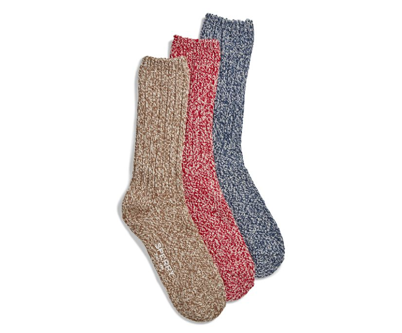 Gift Box Crew Sock, Chili Pepper Assorted, dynamic