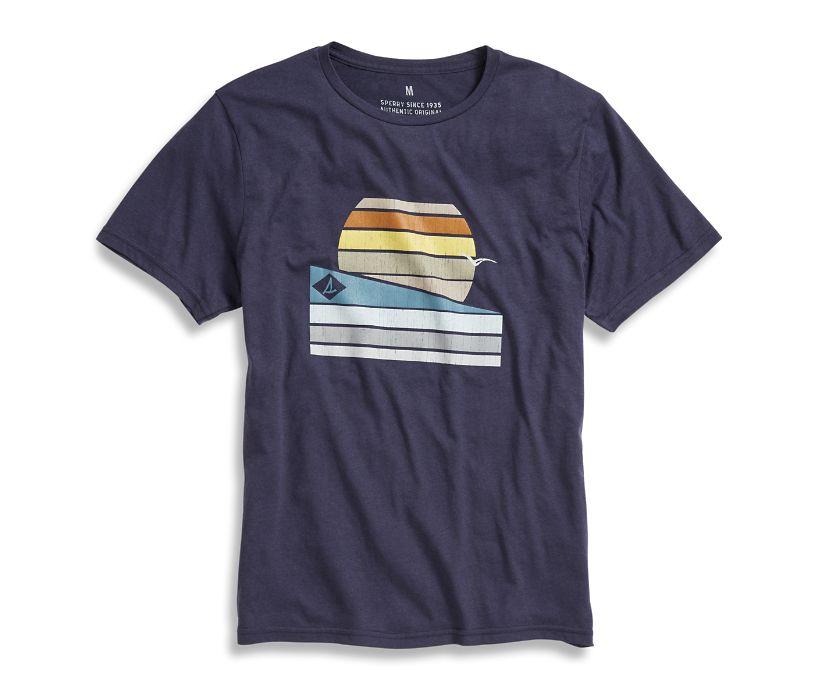 Sunrise T-Shirt, Navy, dynamic