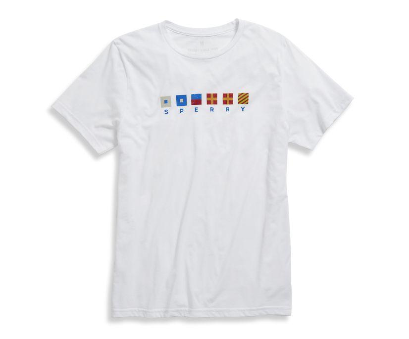 Signals 1 T-Shirt, White, dynamic