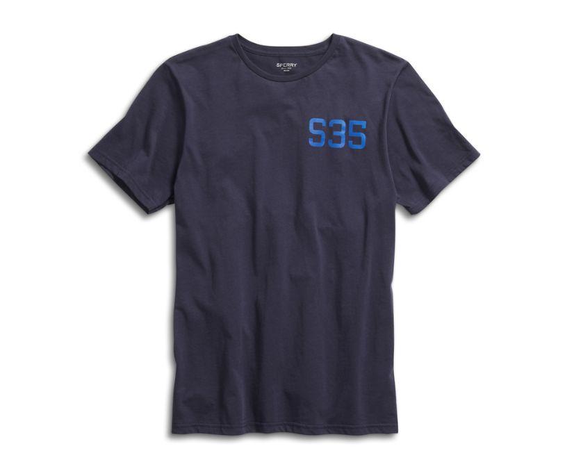 Sperry S '35 T-Shirt, Navy, dynamic