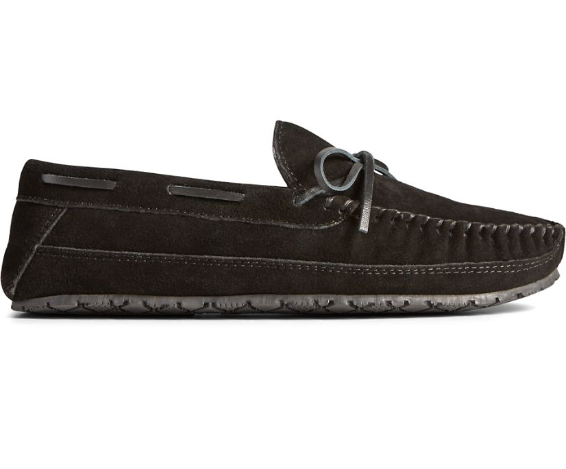Brandon Trapper Slipper, Black, dynamic
