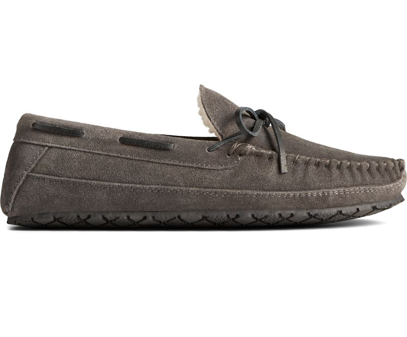 Brandon Trapper Slipper, Charcoal, dynamic