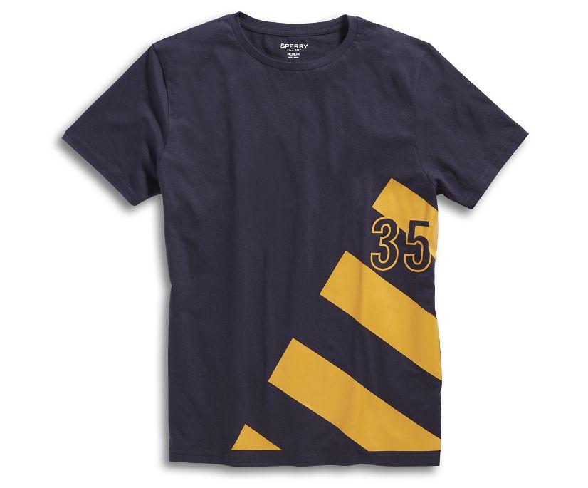 35 Sail T-Shirt, Navy, dynamic