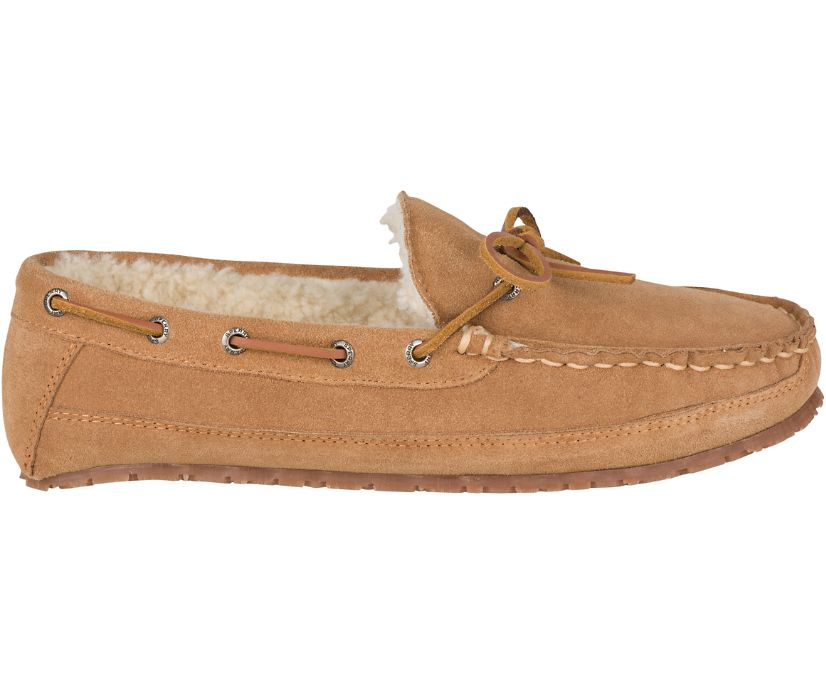 Shearling Slipper, Cinnamon, dynamic