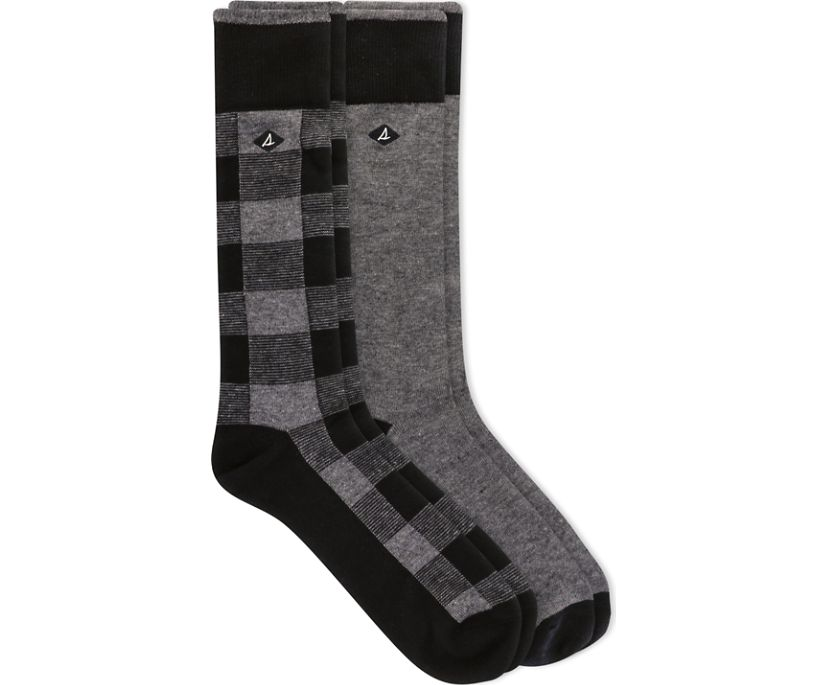 Boot Crew 2-Pack Sock, Grey Heather, dynamic