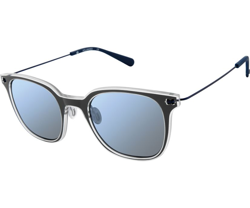 Seatons Sunglasses, Dark Grey / Crystal, dynamic