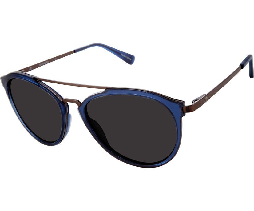 Striper Sunglasses, Translucent Navy, dynamic