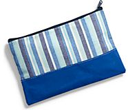 Sea Bags Pouch, Blue Multi Stripe, dynamic
