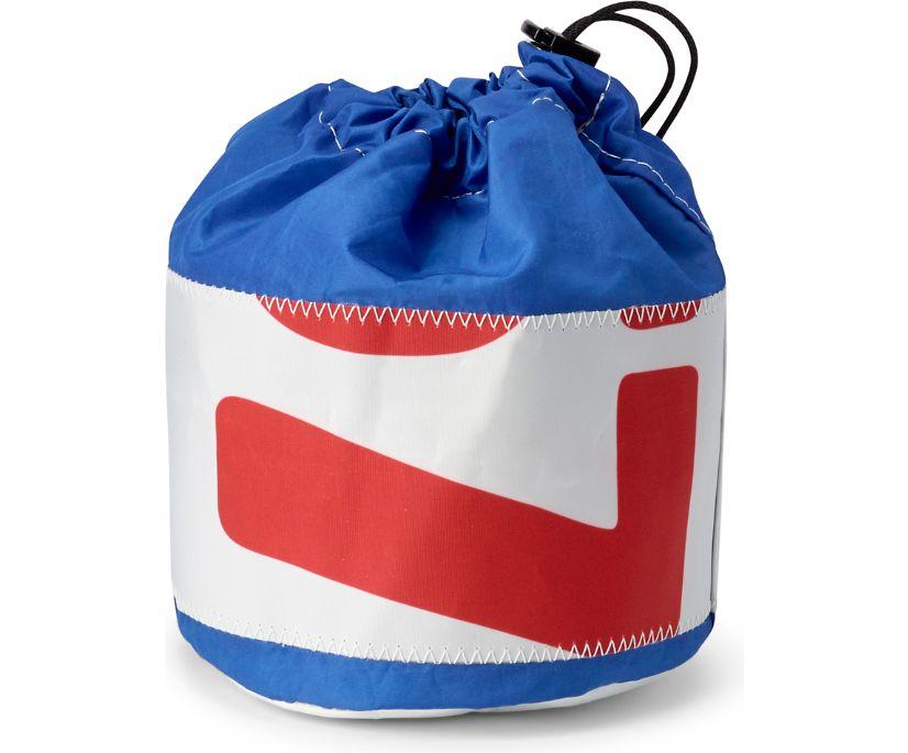 Sea Bags Vintage Numbers Ditty Bag, Blue, dynamic