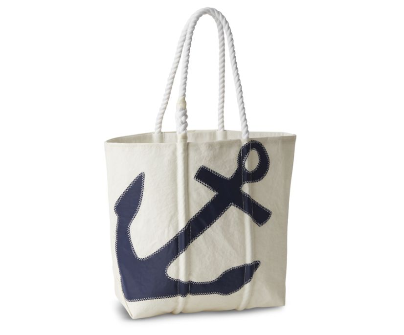 Sea Bags Anchor Medium Tote, Navy, dynamic