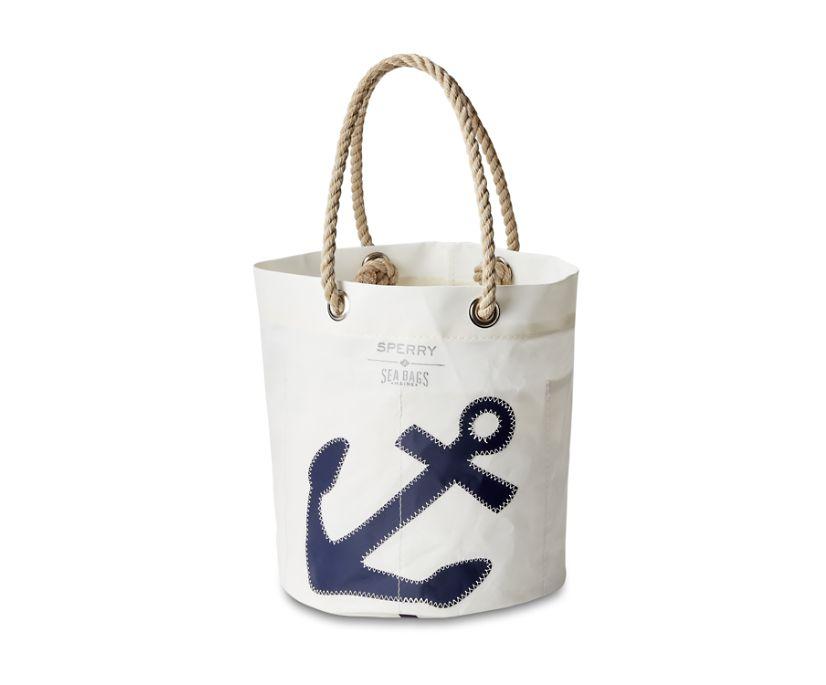 Sea Bags Anchor Beverage Bucket Bag, Navy, dynamic