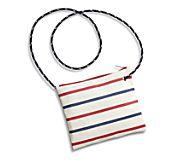 Sea Bags Slim Cross Body Bag, Red/Blue, dynamic