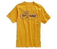 Made in USA Cloud Cotton T-Shirt, Gold, dynamic