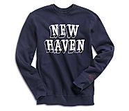 Made in USA Cloud Cotton Crew, Navy, dynamic