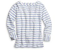 Oversized Woven Pullover, Blue/Grey, dynamic