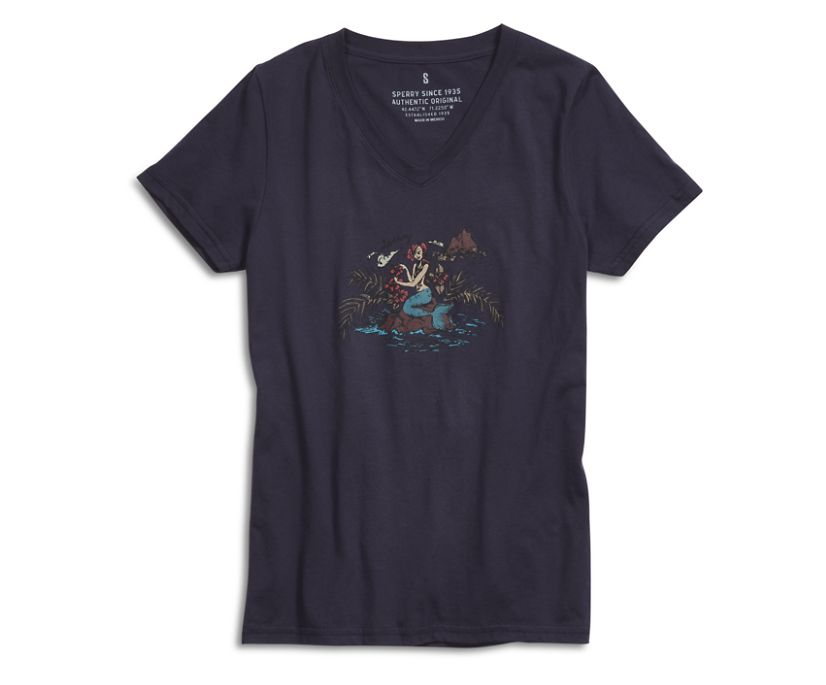 Maiden T-Shirt, Navy, dynamic
