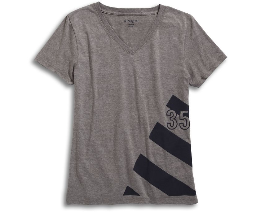 35 Sail T-Shirt, Grey, dynamic
