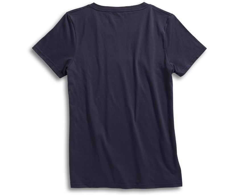 Compass T-Shirt, Navy, dynamic