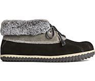 Cecily Duck Slipper, Black/Grey, dynamic