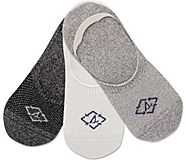 Bionic Performance Cushion 3-Pack Liner Sock, Grey Marled Assorted, dynamic
