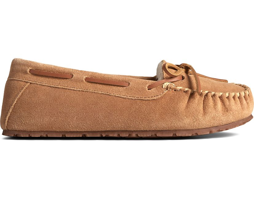 Reina Junior Trapper Slipper, Cinnamon, dynamic