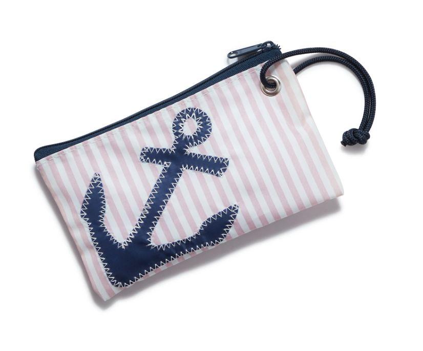 Sea Bags Seersucker Wristlet, Pink, dynamic