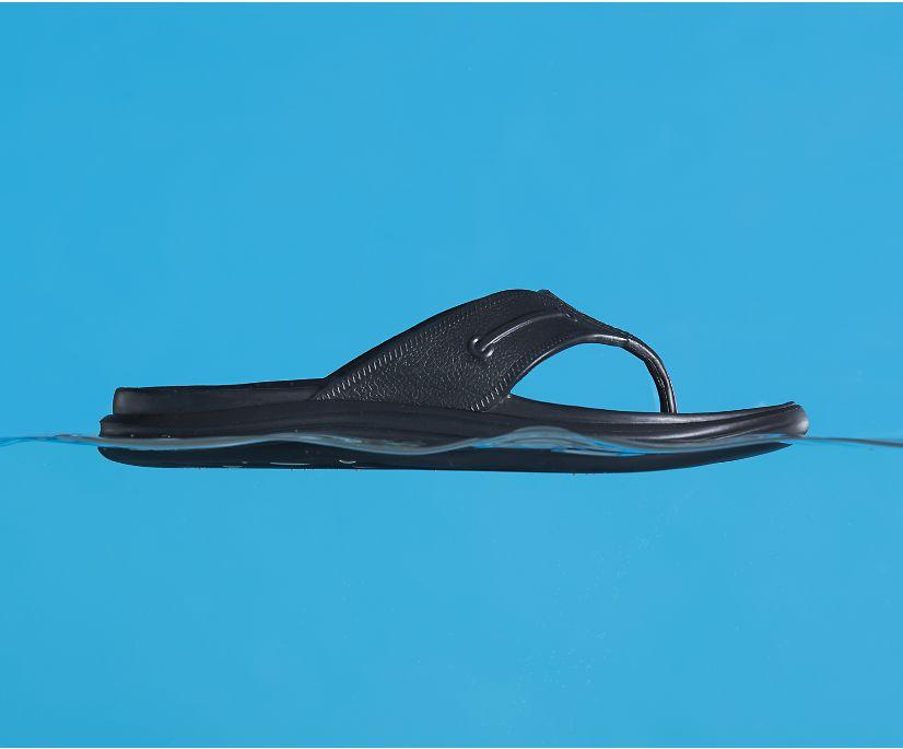 Windward Float Flip Flop, Black, dynamic