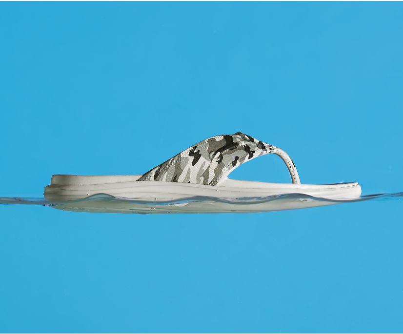Windward Float Flip Flop, Olive Camo, dynamic