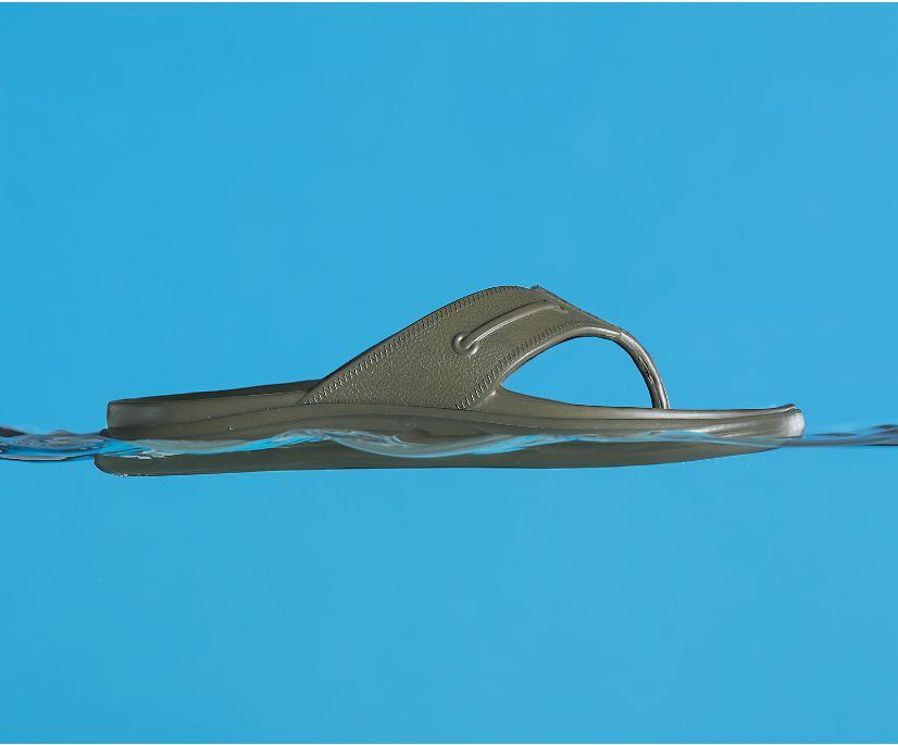 Windward Float Flip Flop, Olive, dynamic