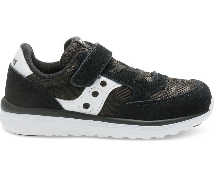 Baby Jazz Lite Sneaker, Black / White, dynamic