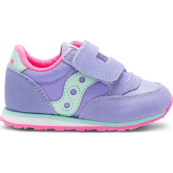Baby Jazz Hook & Loop Sneaker, Periwinkle, dynamic