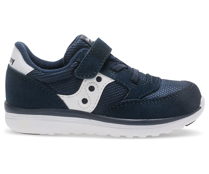 Baby Jazz Lite Sneaker, Navy / White, dynamic