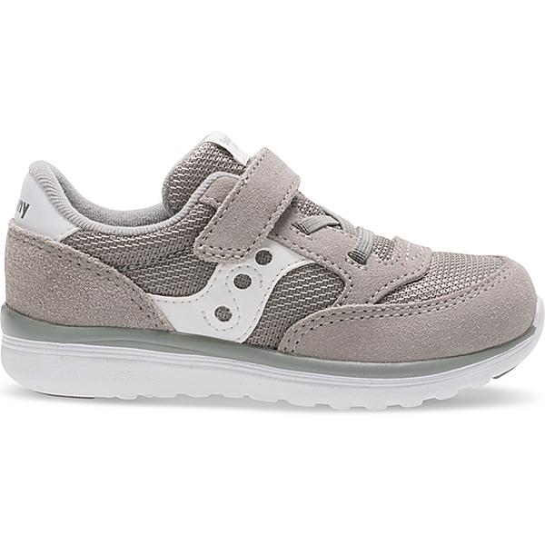 Baby Jazz Lite Sneaker, Grey / White, dynamic